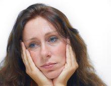 Disturbi clinici di depressione e i suoi sintomi.