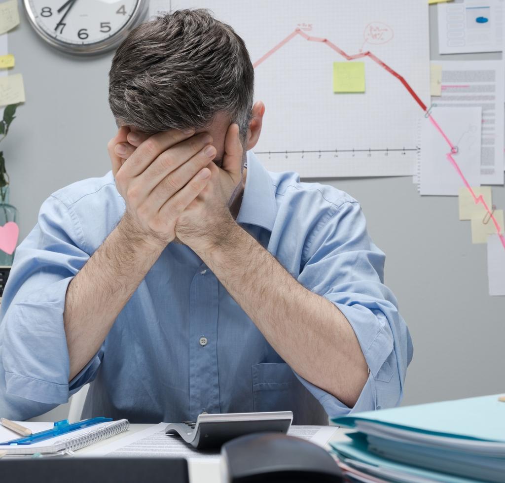 Collasso Nervoso e traumi psichici per negatività finanziarie.