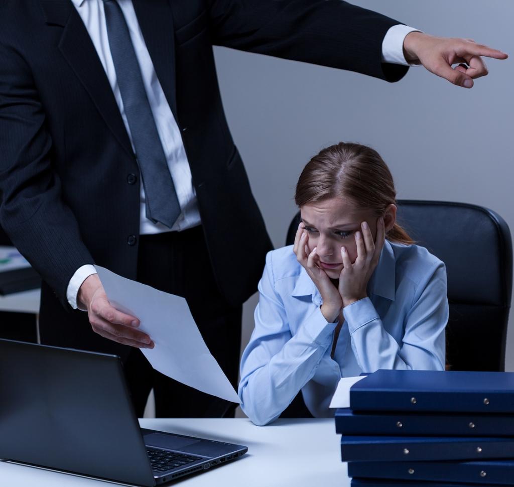 Aggressività, mobbing, bossing in tensioni lavoro correlato.