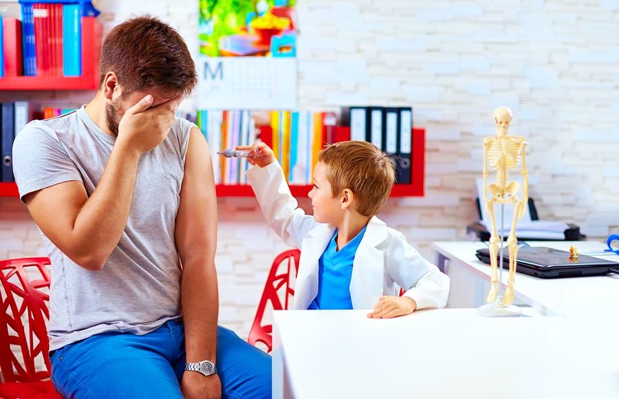 Ipocondria e Paura e giusta educazione sanitaria familiare.